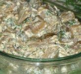 Жареные баклажаны, как грибы