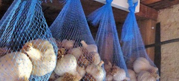 Условия для хранения чеснока